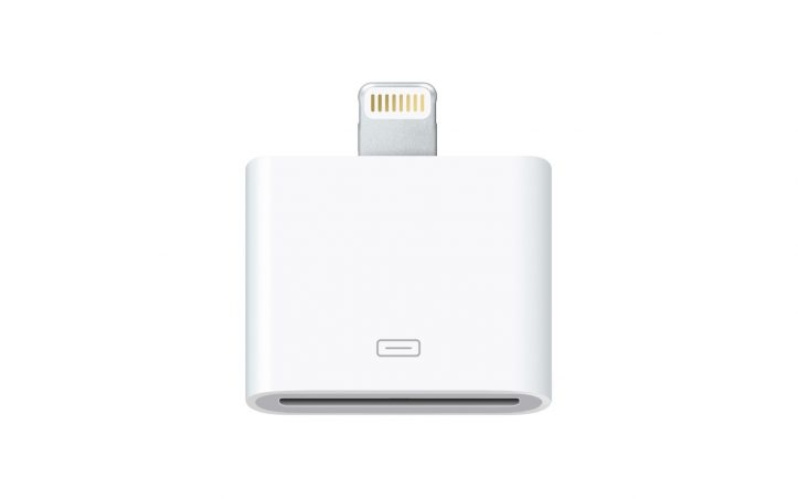 Apple 30pin connector adaptor
