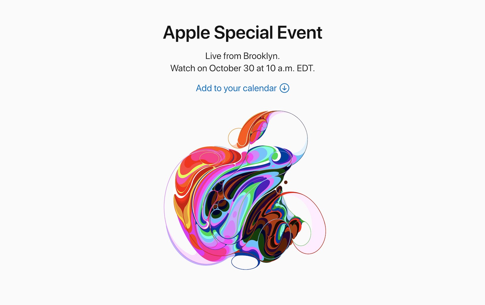 Apple Live Event on Twitter