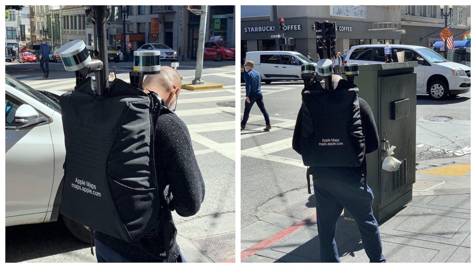 Apple Maps Man on foot