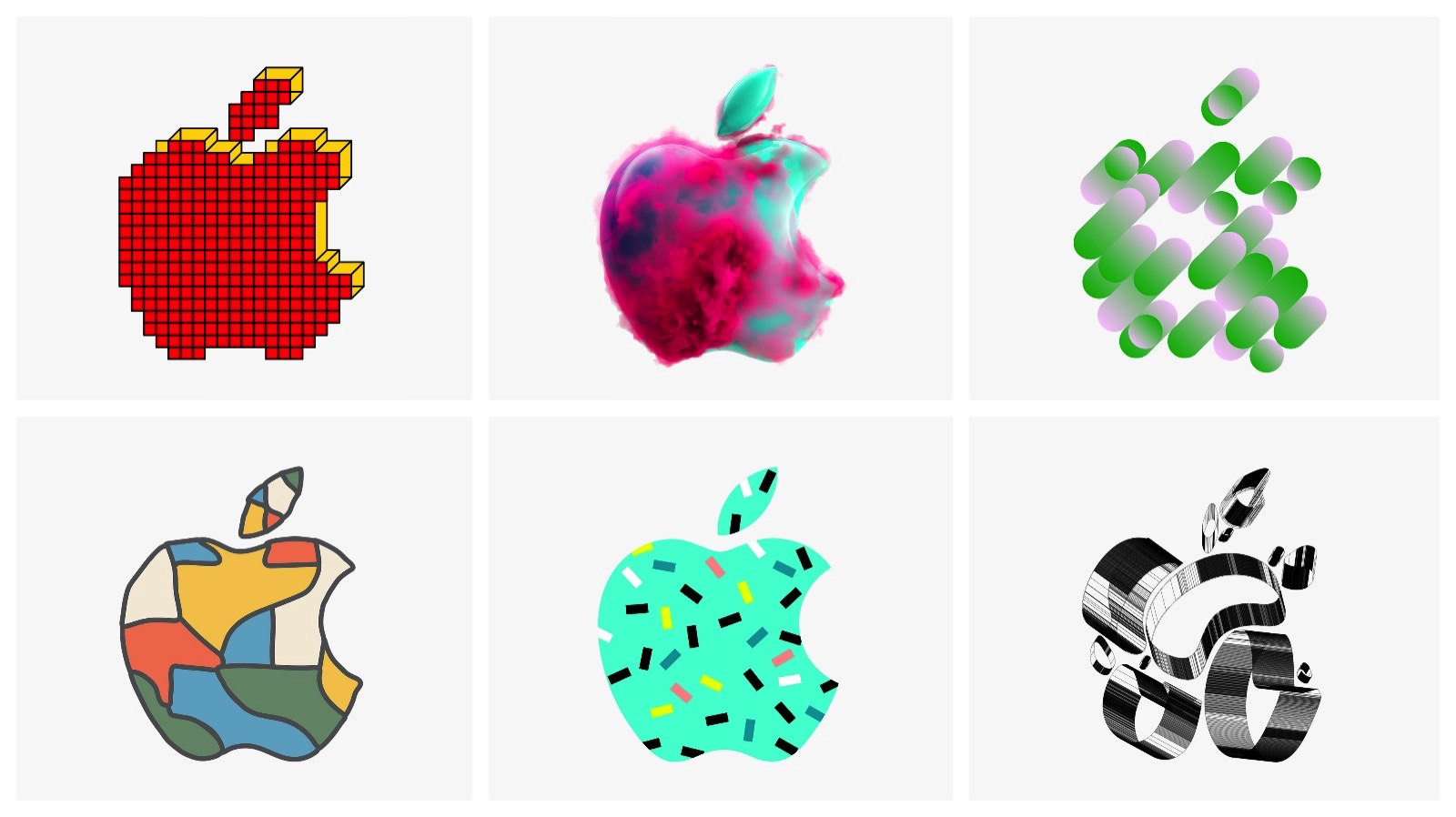 Apple Special Event logos