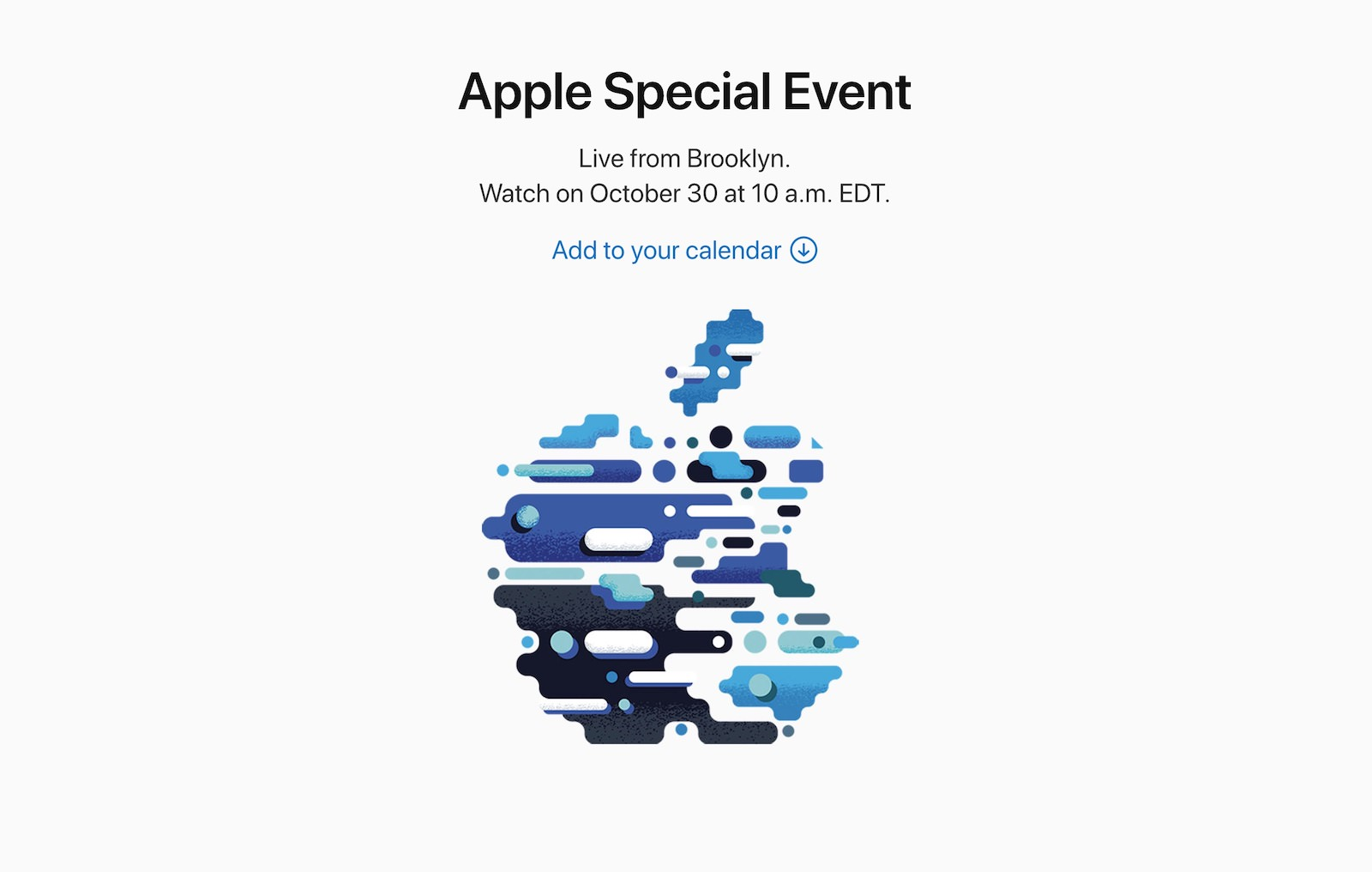 Apple Special October Event