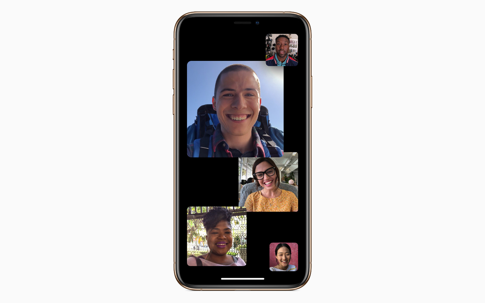 Group FaceTime for iOS12 1