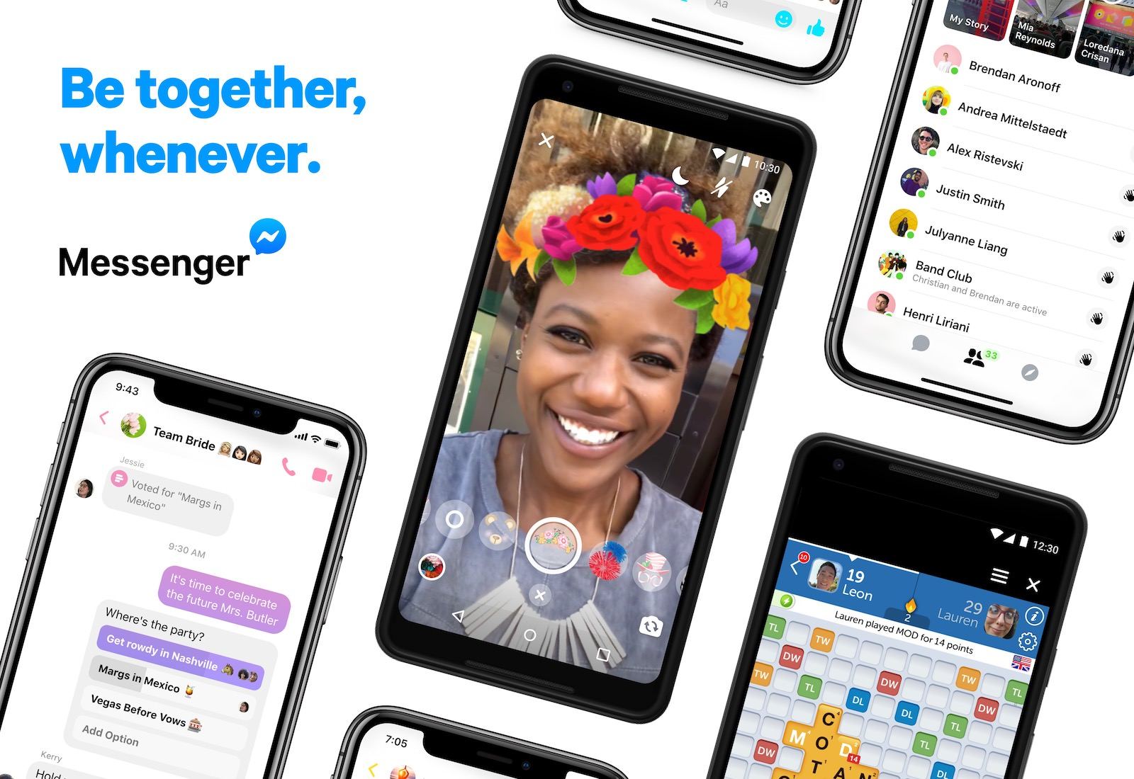 Messenger 4 Features1