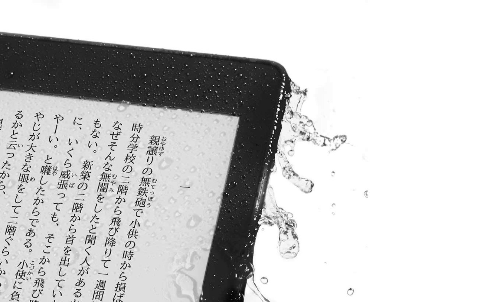 New Kindle Paperwhite Waterproof model