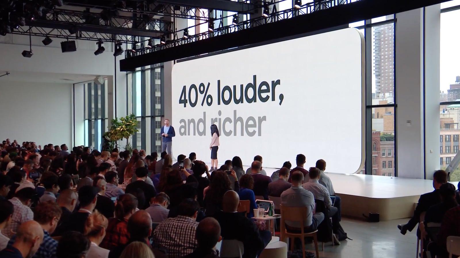 Speakers on Pixel3