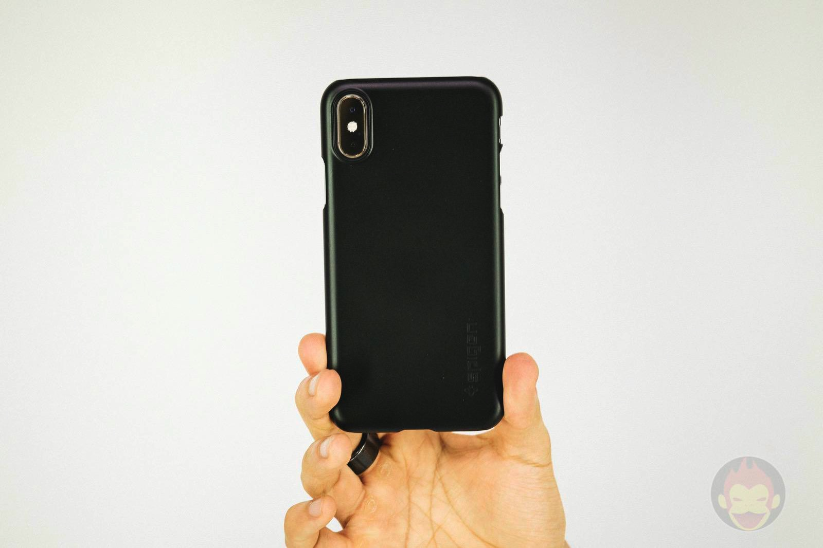 Spigen Thin fit for iPhoneXS 01