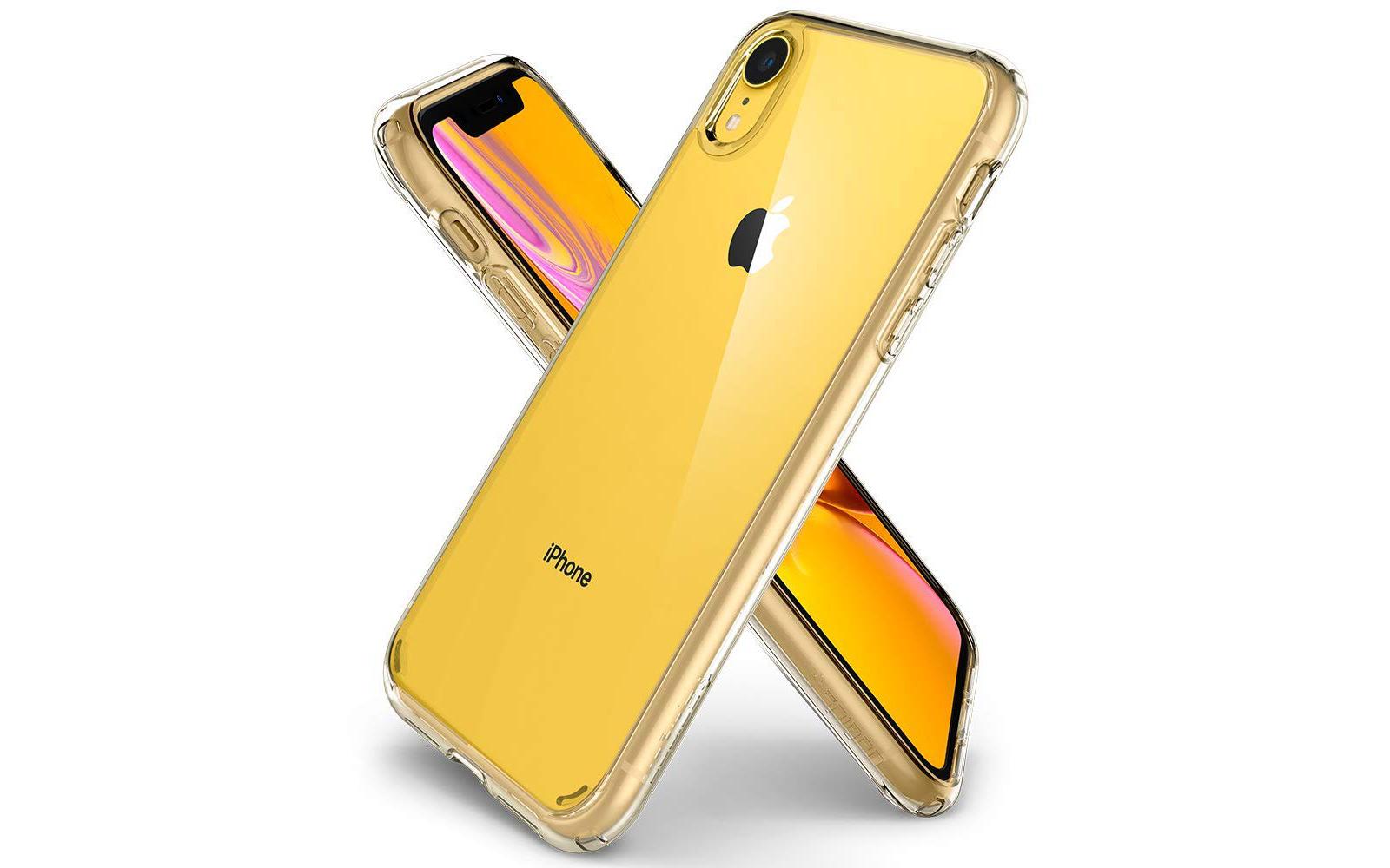Spigen clear case for iphonexr