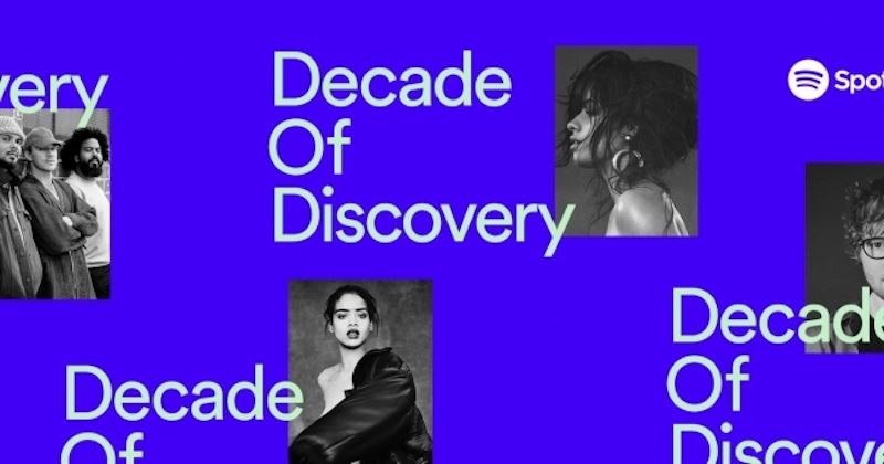 Spotify decade of music