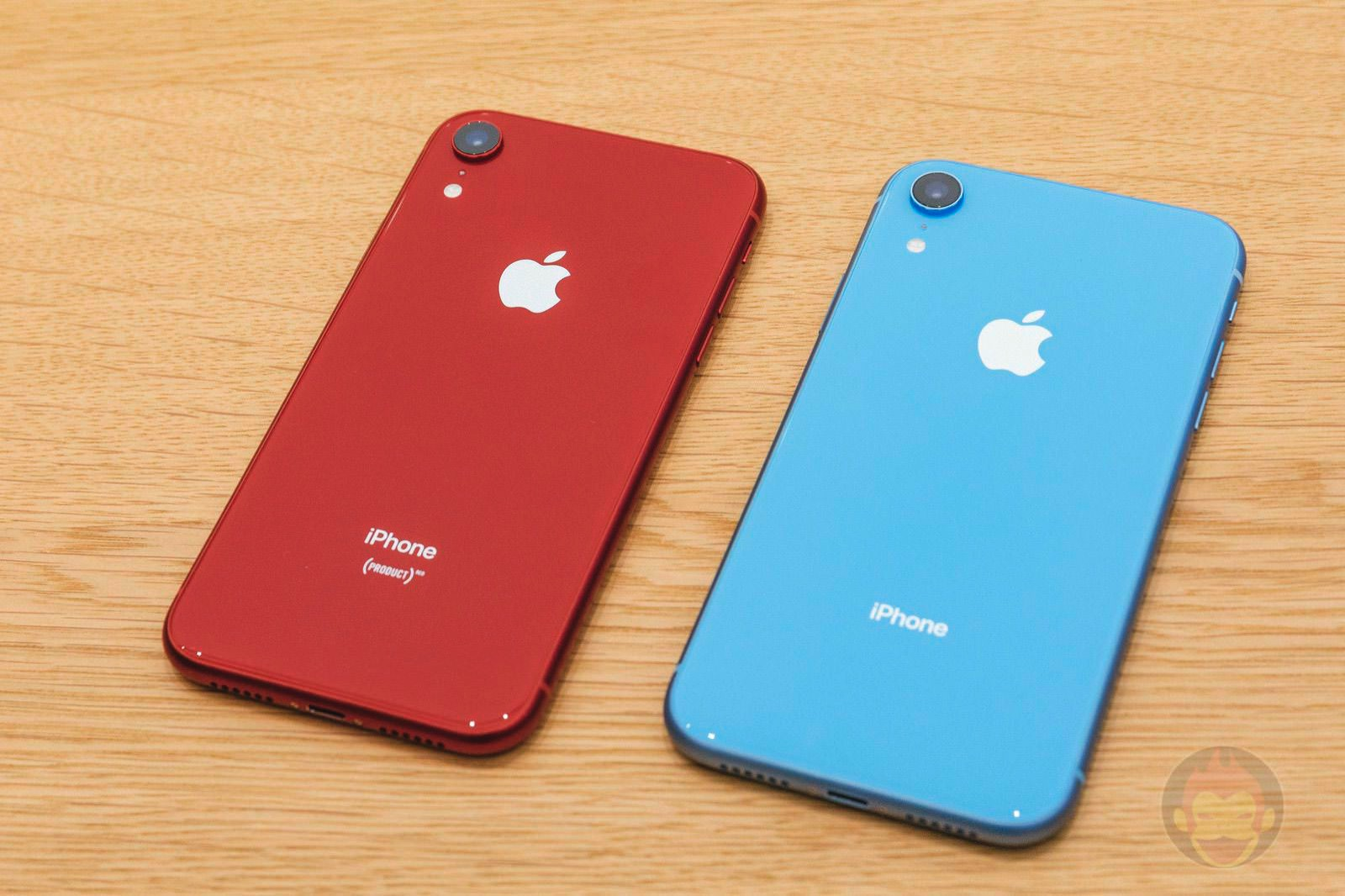 IPhone XR Red and Blue 01