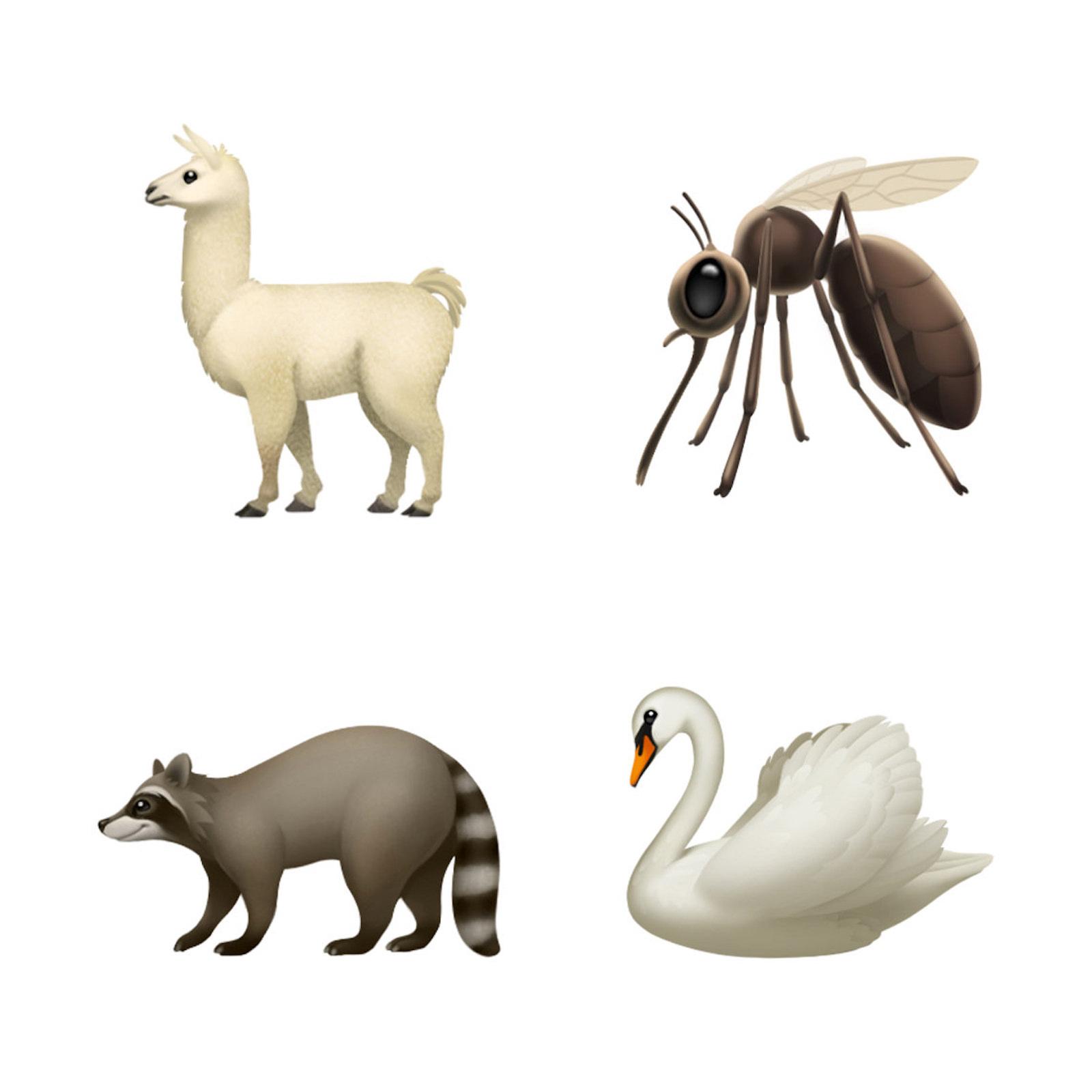 ios-121-emoji-update-llama-mosquito-swan-raccoon-10012018.jpg