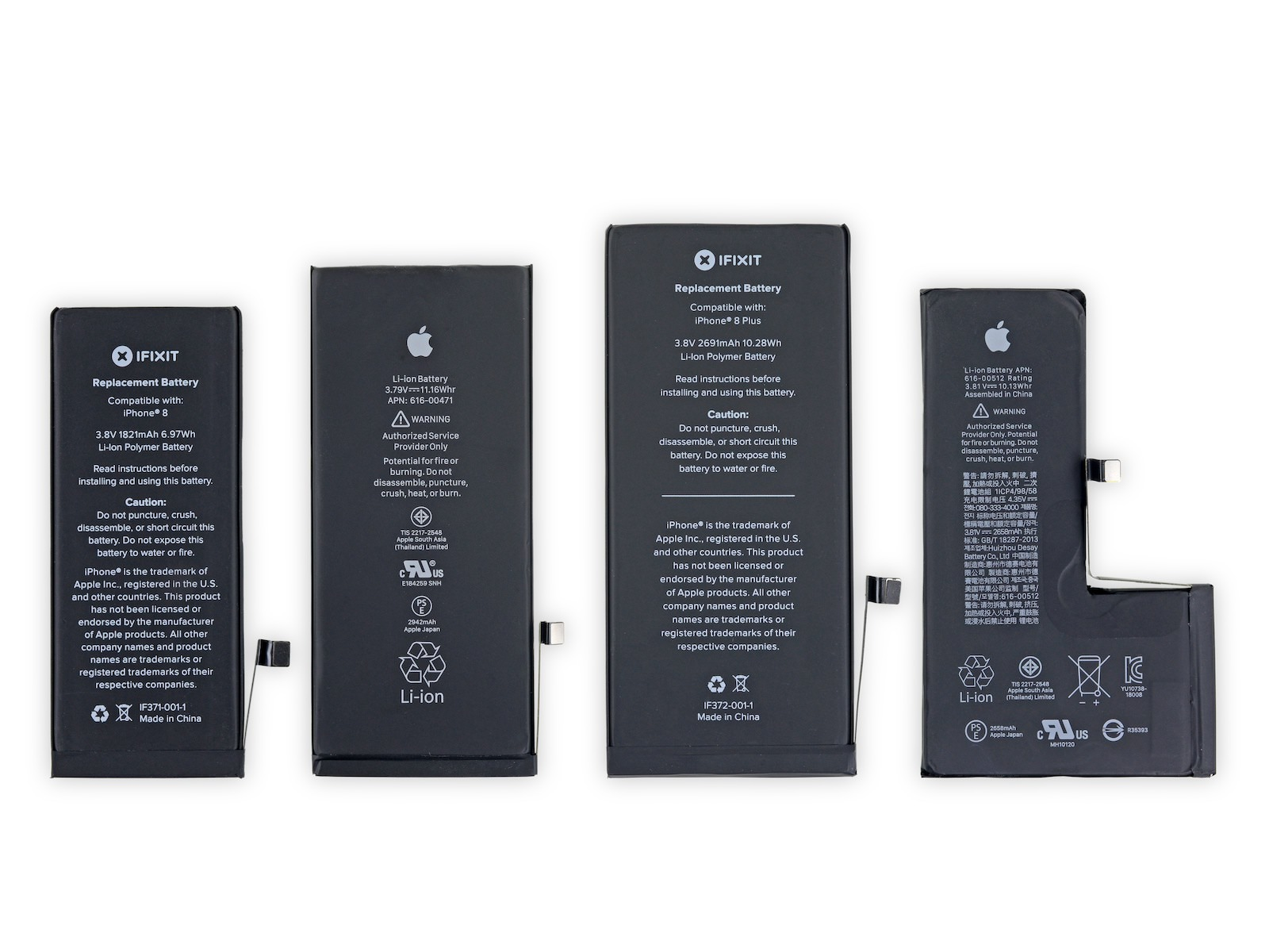 Iphone batteries comparison