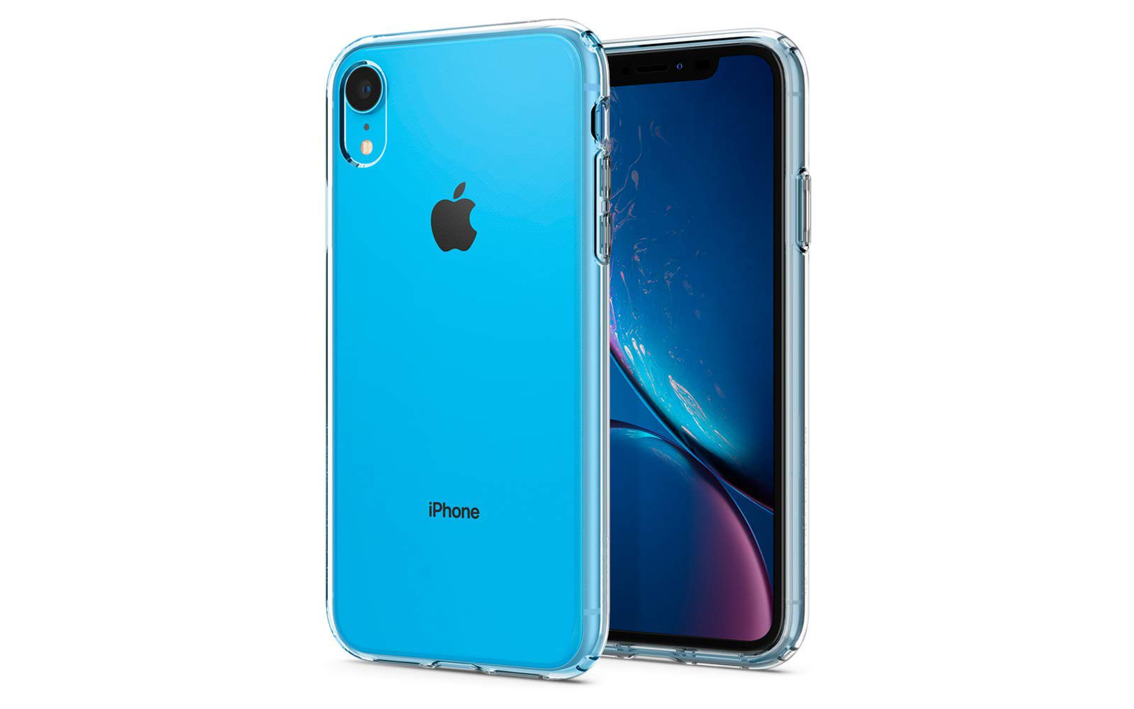 Iphone xr case by spigen