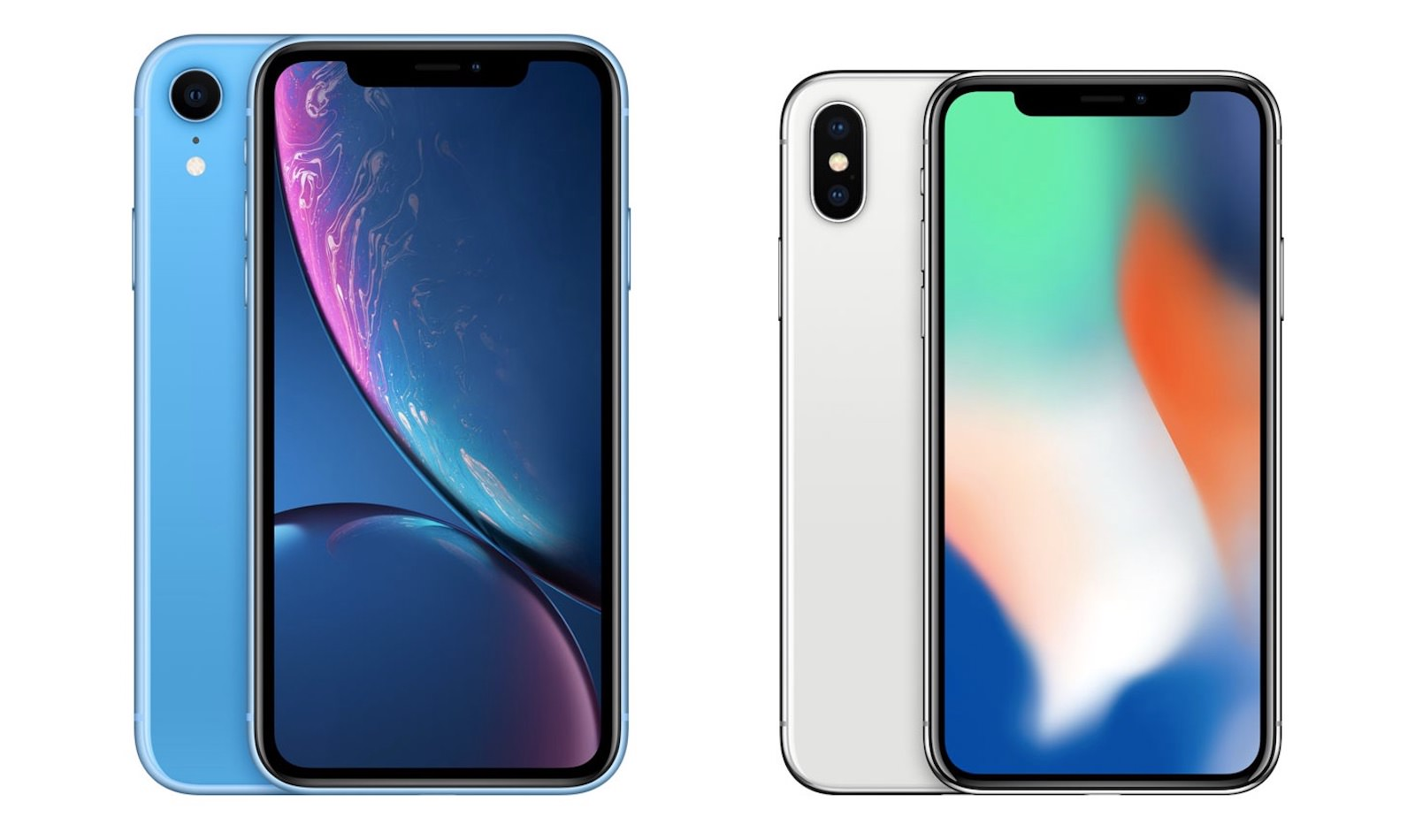 Iphone xr x comparison