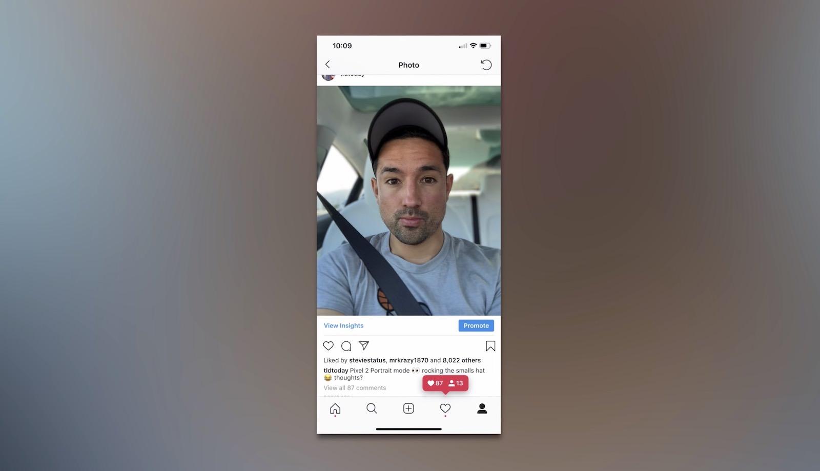 jonathan morrison selfie