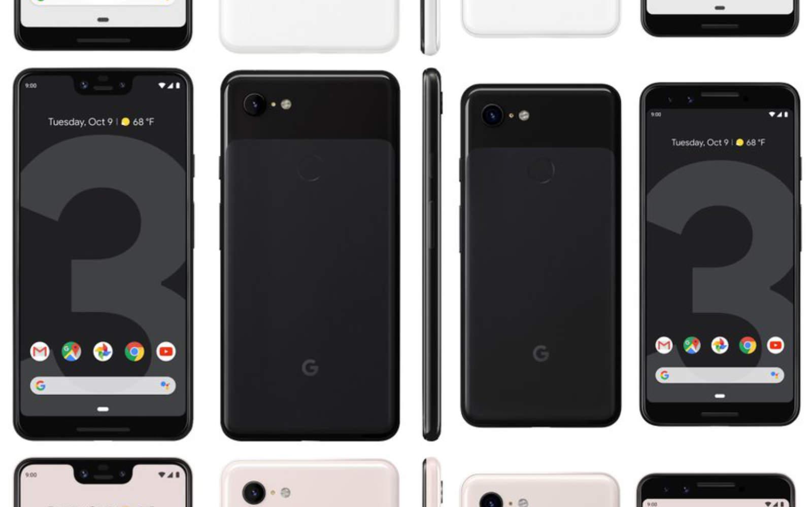 Pixel 3 images