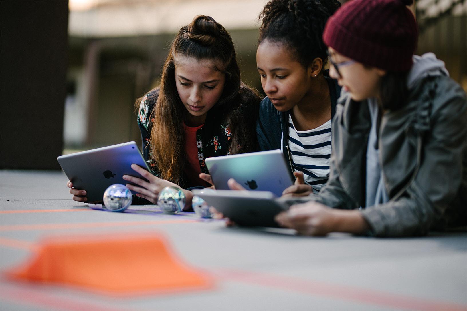 Computer Science Education Week coding sphero 11262018