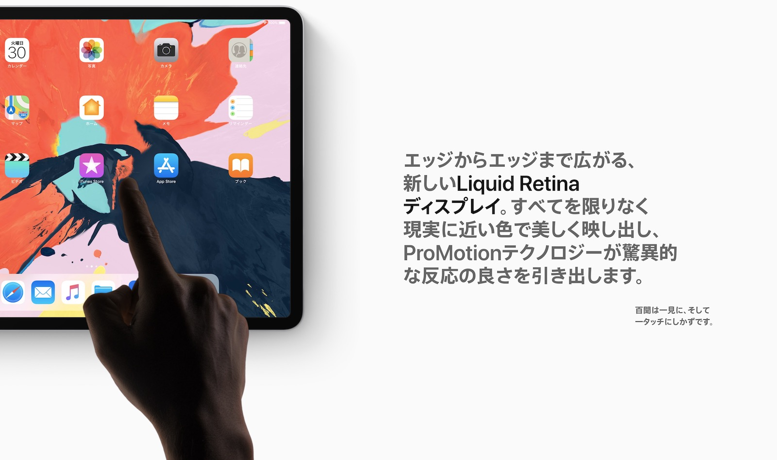 Liquid Retina Display ipad pro