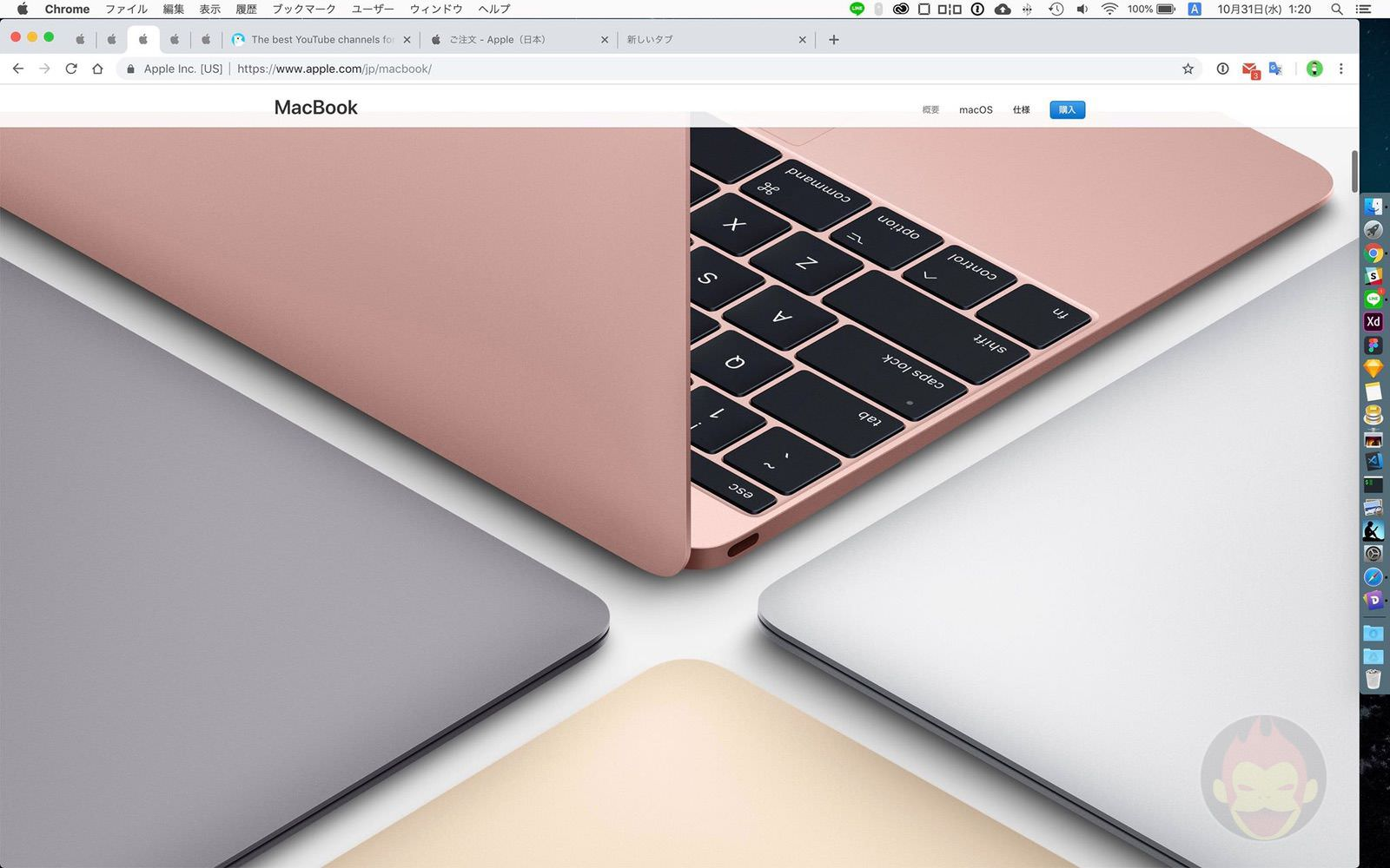 MacBook 12inch model loses rose gold 01