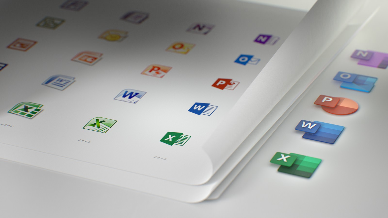 Microsoft Office New Icons 1