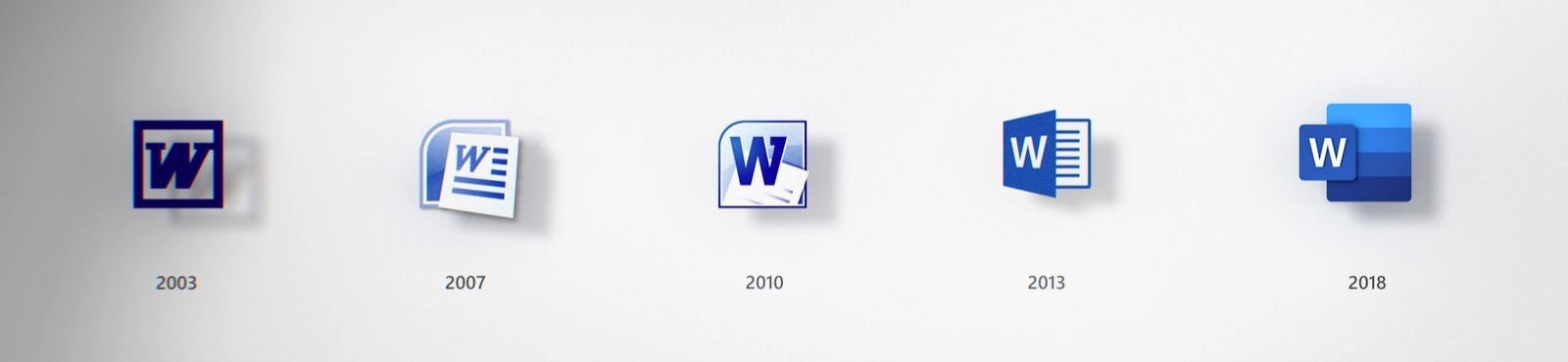 Microsoft Word New Icons