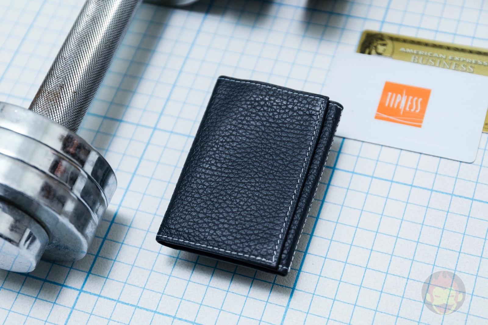 PRESSo pique minimal wallet for cashless 05