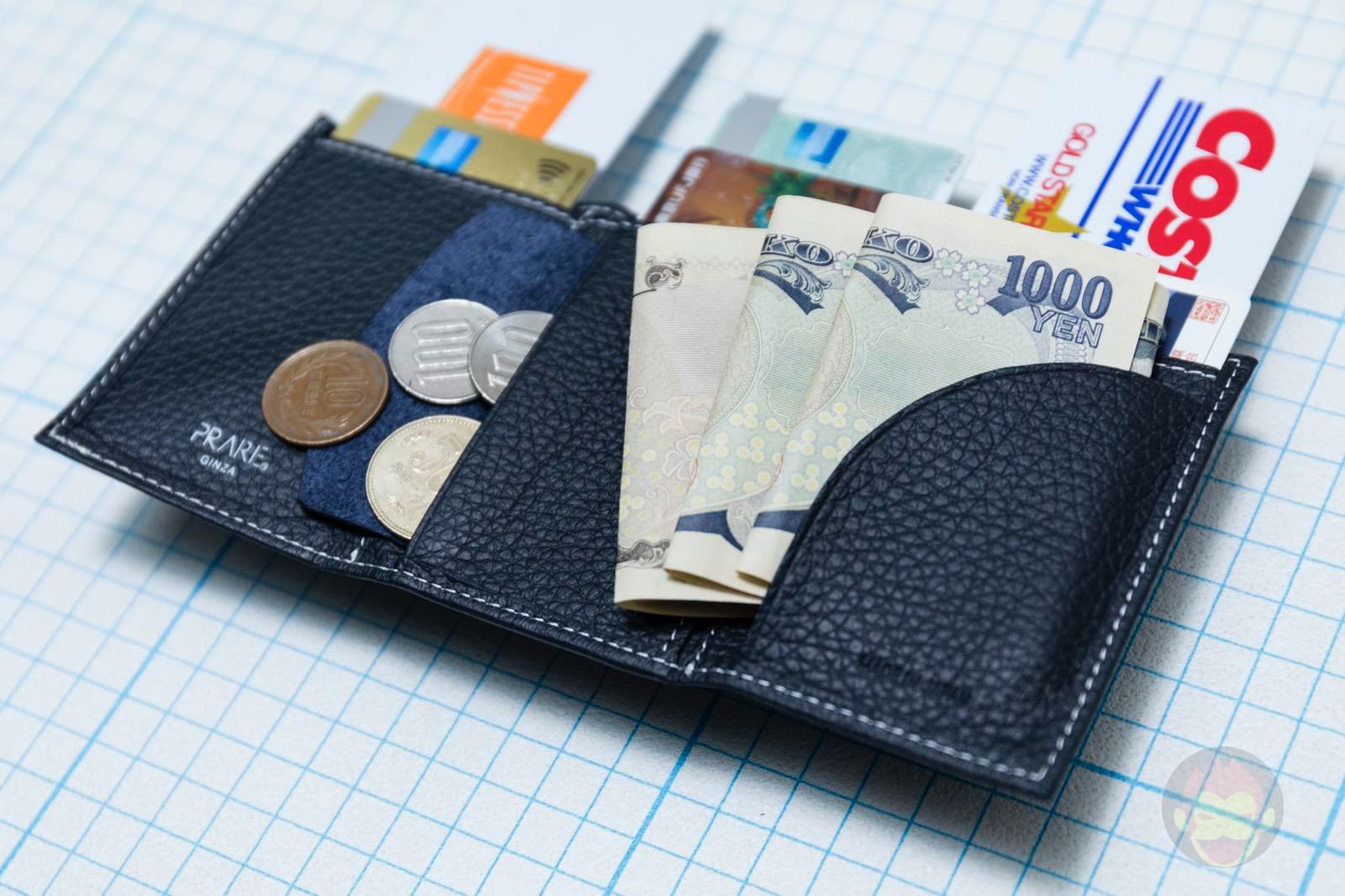 PRESSo pique minimal wallet for cashless 11