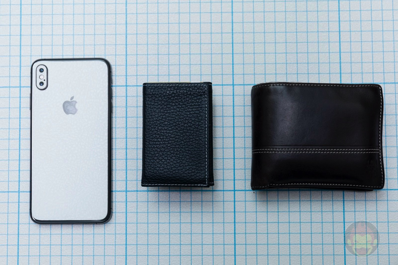 wallet and iphone