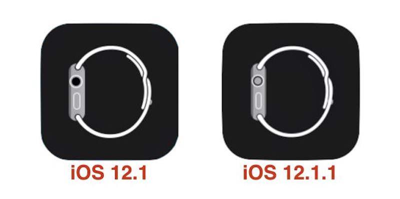 IOS 12 1 1 Apple Watch icon