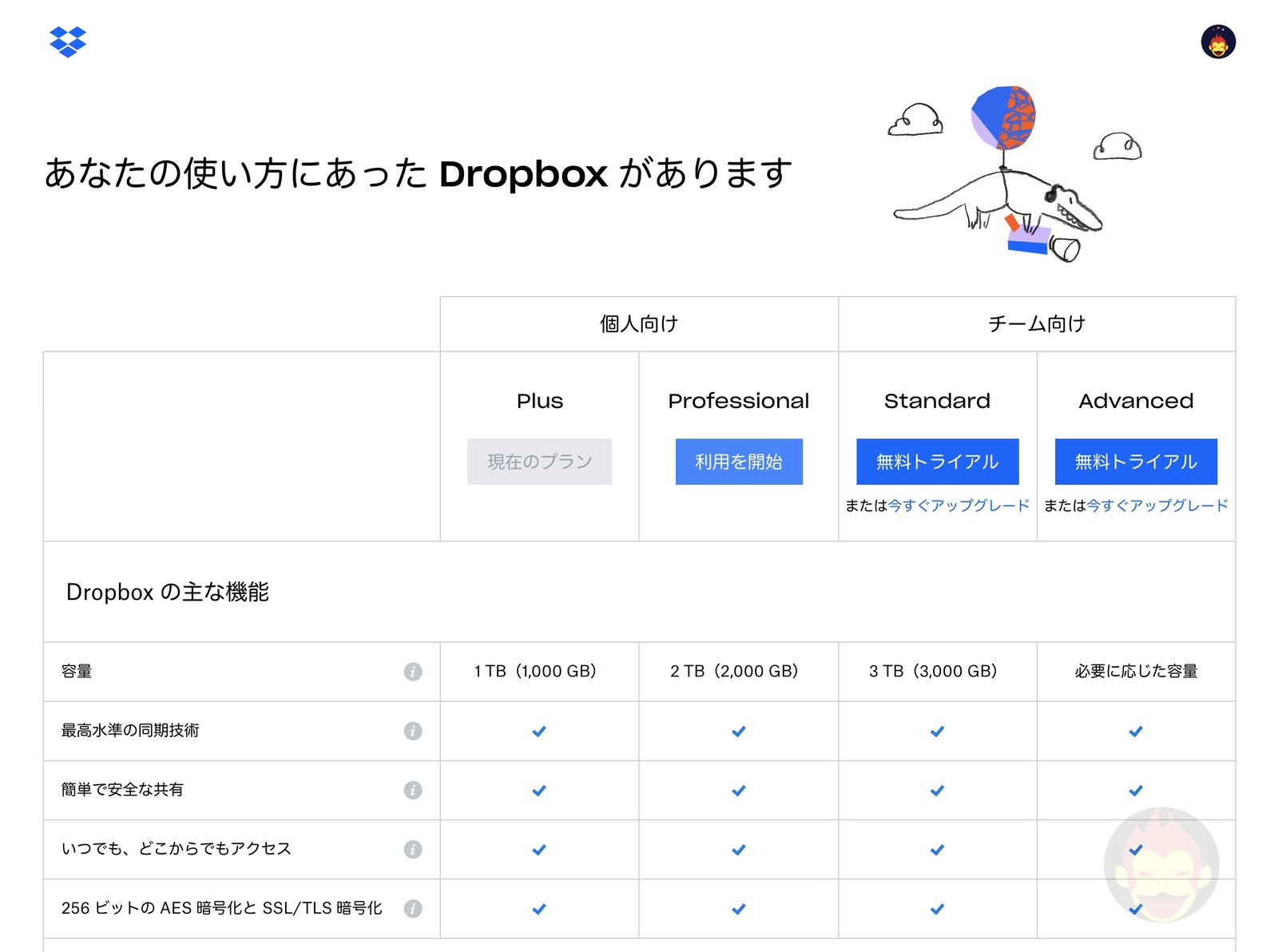 Dropbox Professional Smart Sync 05