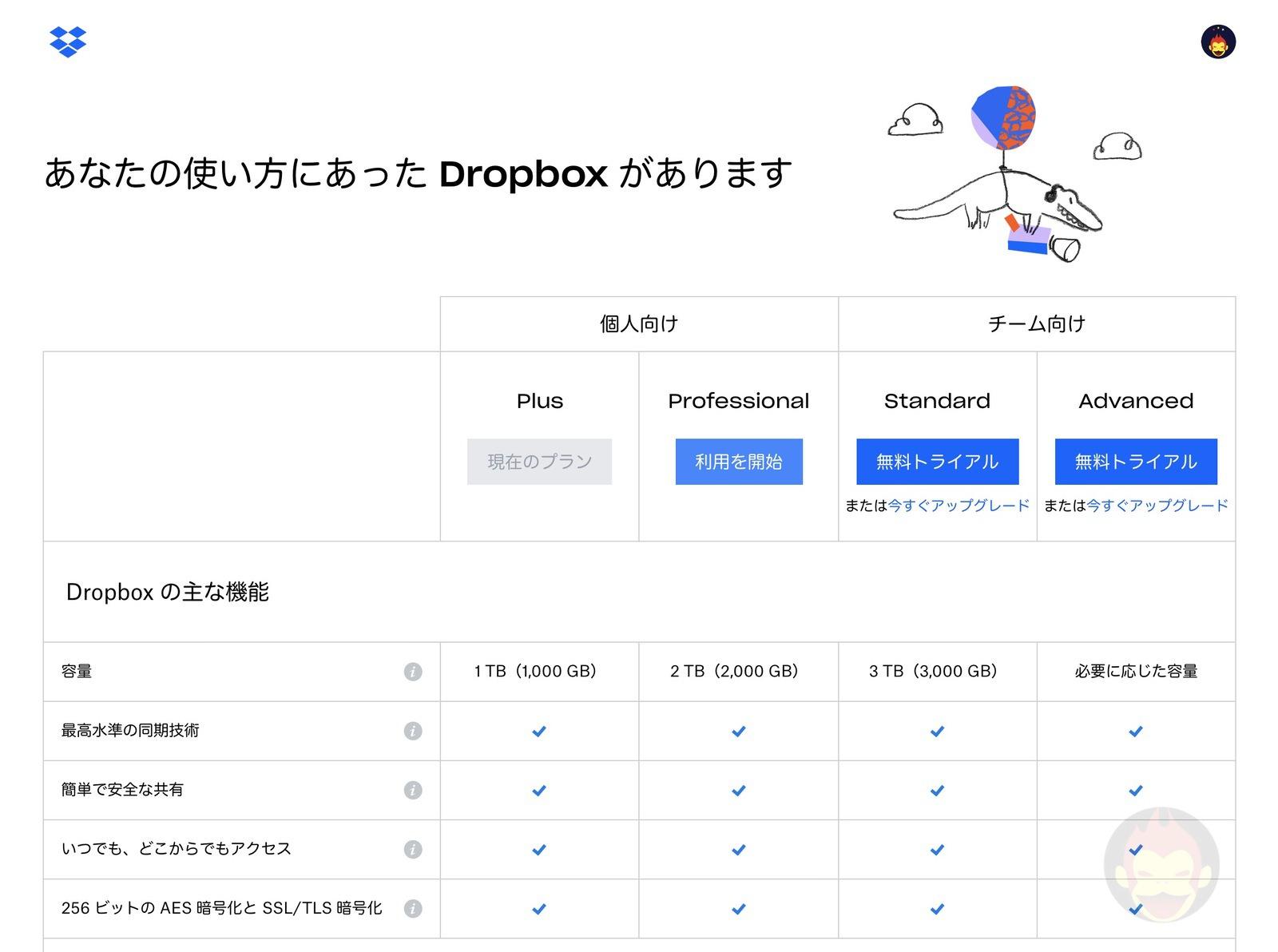 Dropbox Professional Smart Sync 05