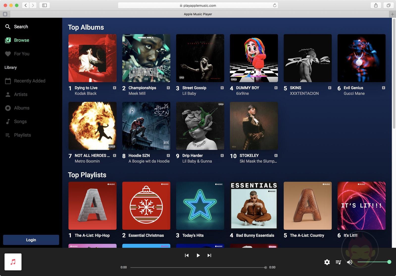 Play Apple Music Web MusicKit 01