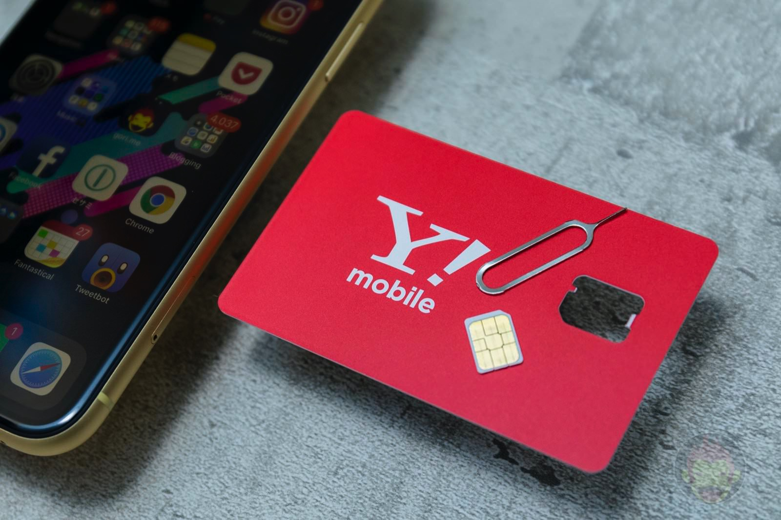 Ymobile SIM Starter Kit and iPhoneXR 05