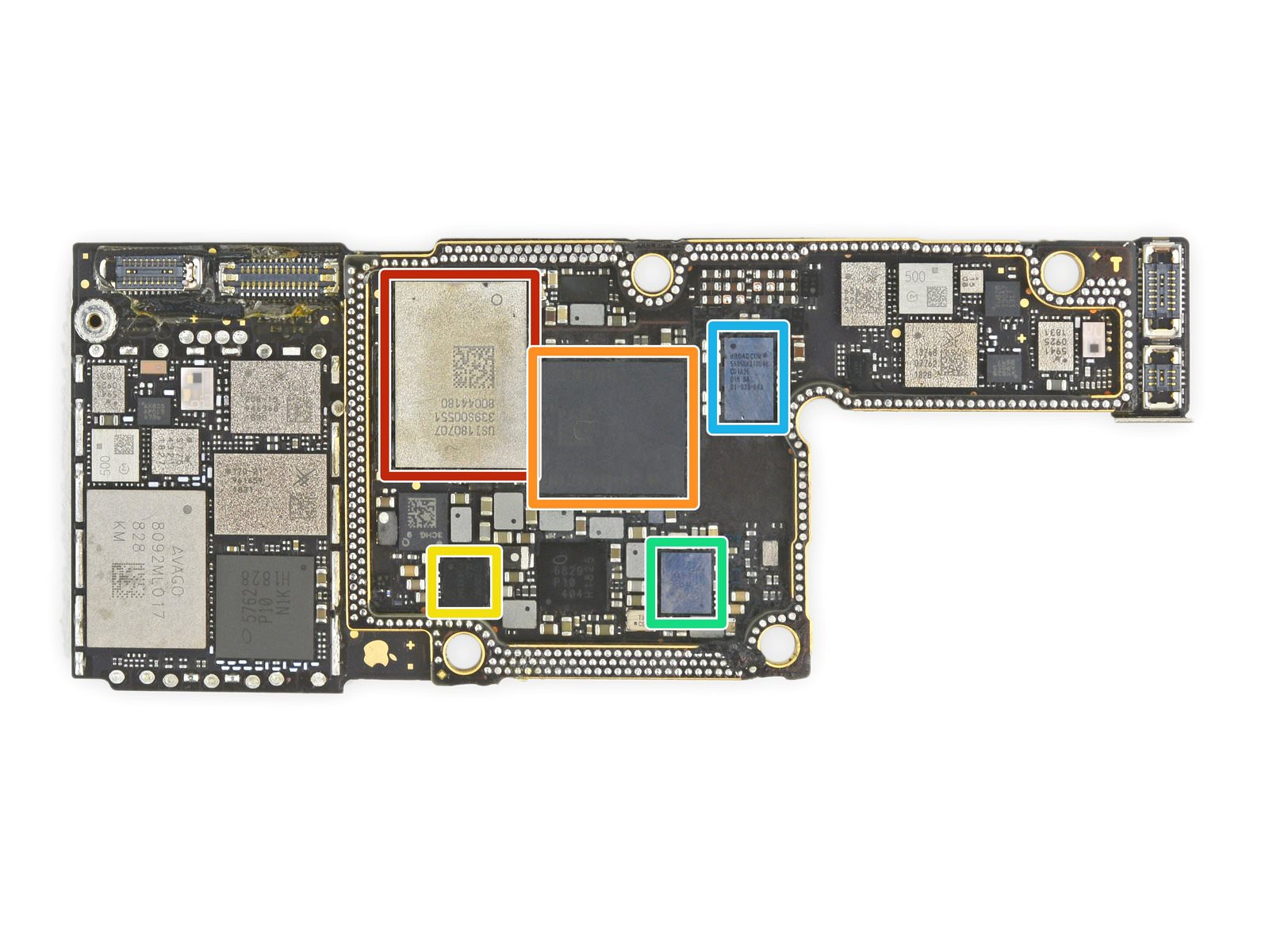 Iphone xs xsmax modem chip