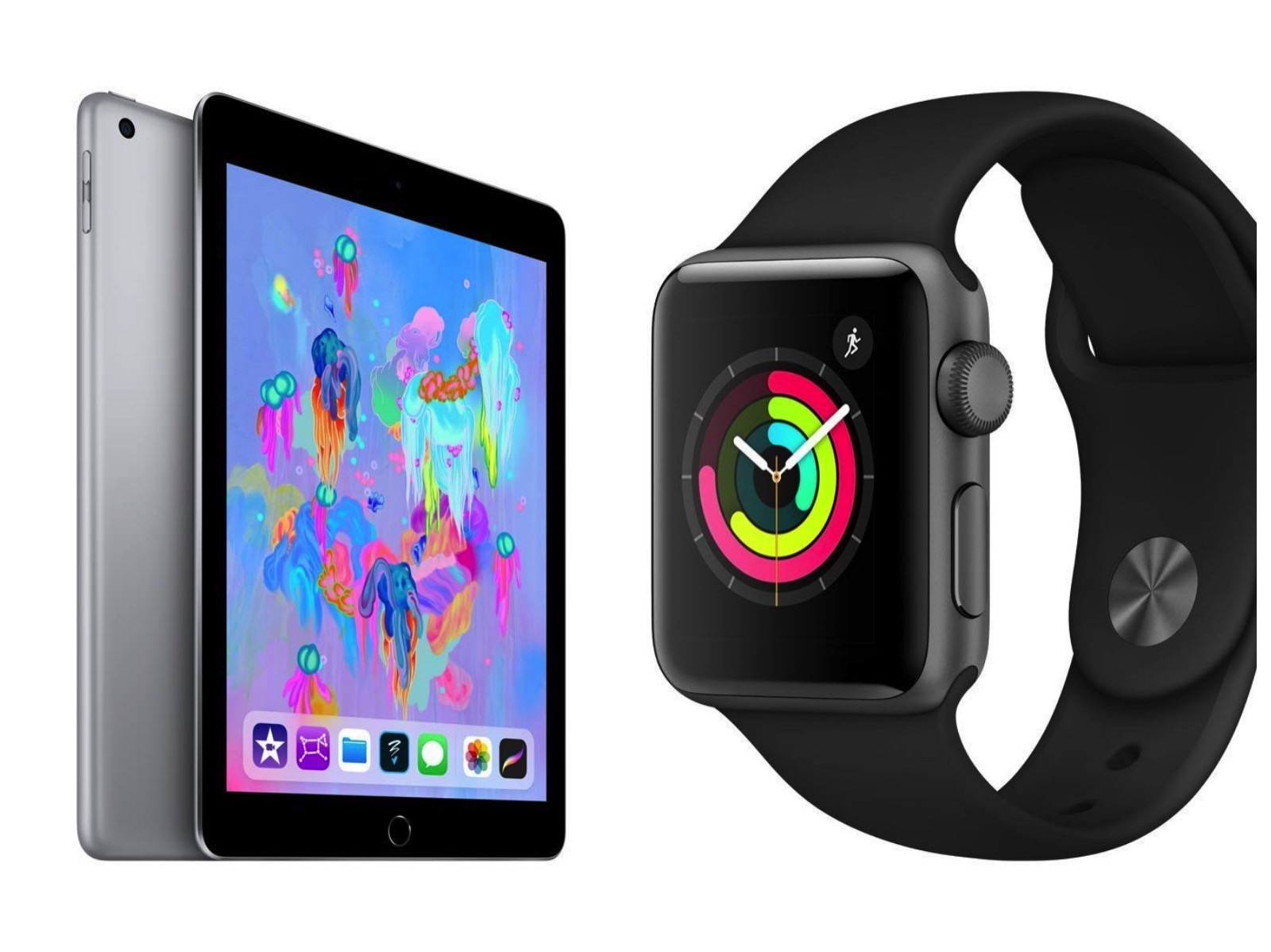 Apple Watch Series3 and ipad6 on sale