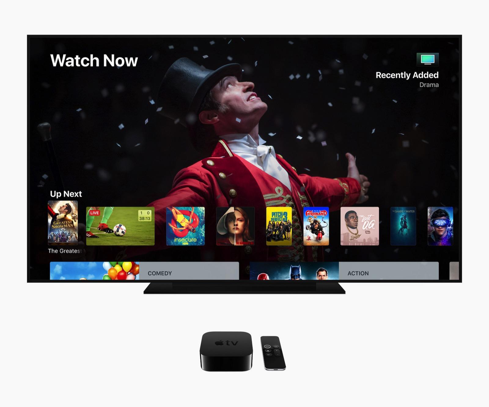 Apple TV 4k screen 06042018