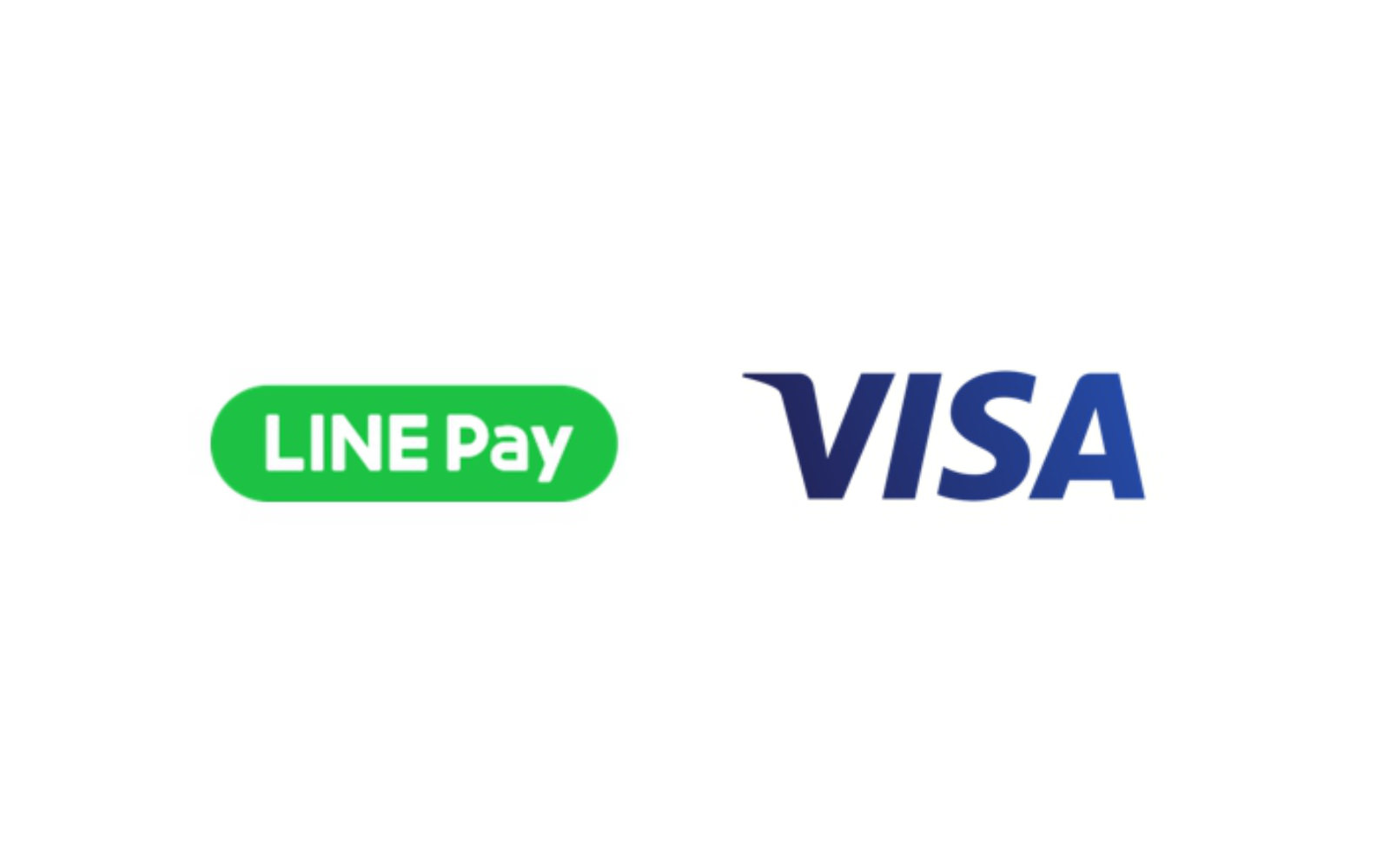 LINE Pay and VISA