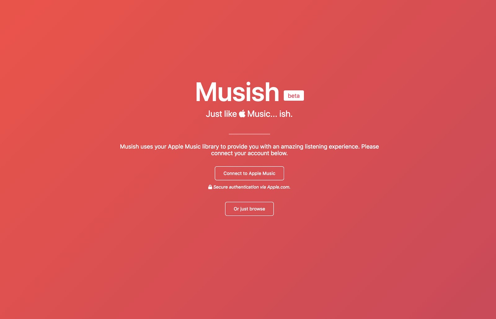 Musish apple music service 1