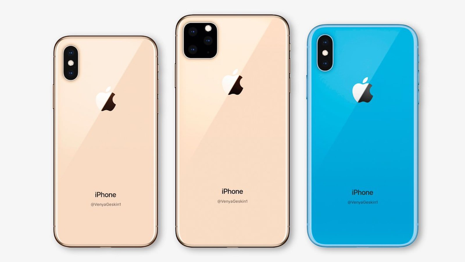 New iphone 11 lineup