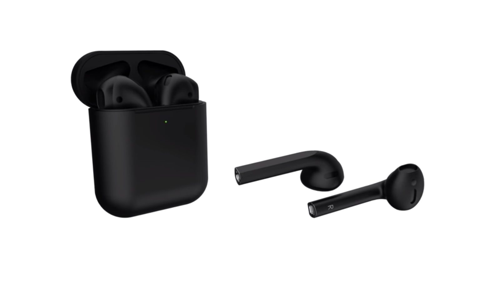 AirPods Black Model Concept Image 3