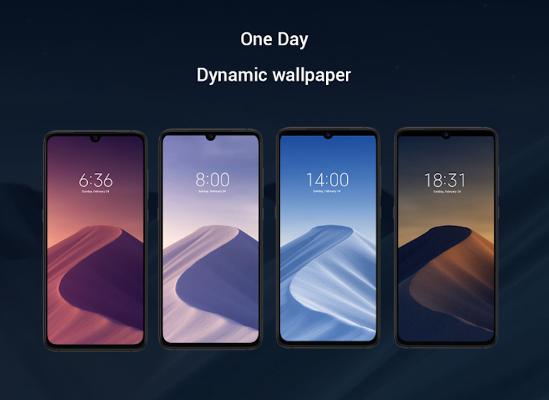Dynamic Wallpaper Xiaomi 9