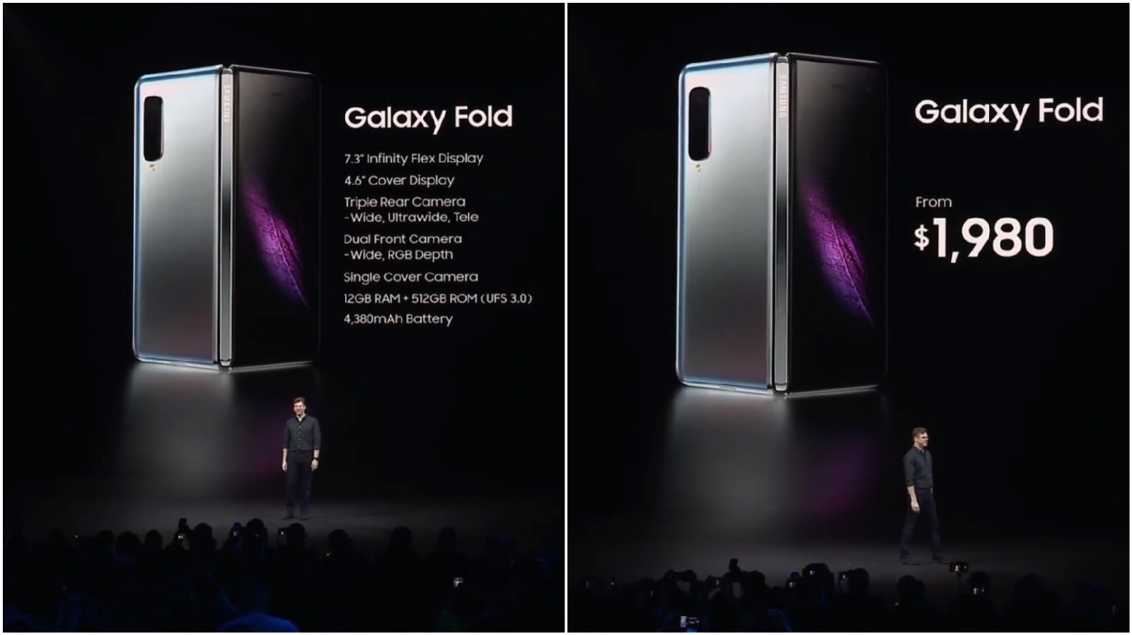 Galaxy Fold Specs and Pricing