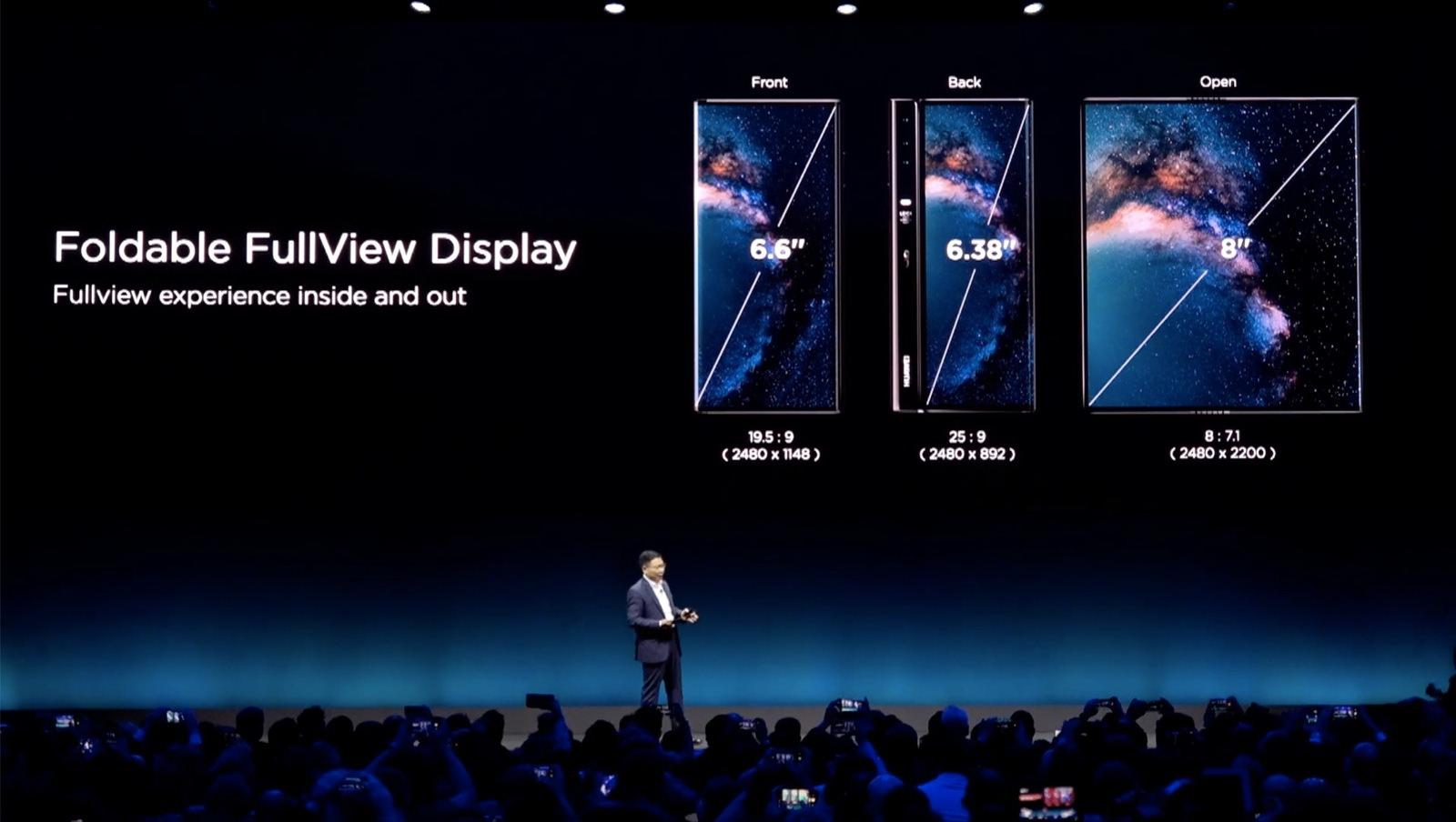 Huawei Mate X Foldable 20