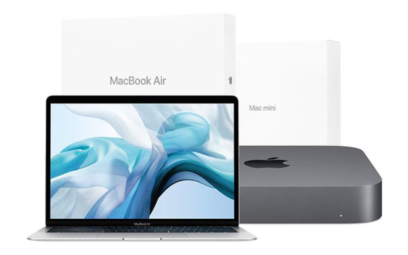 MacBookAir and Macmini 2018models refurbished