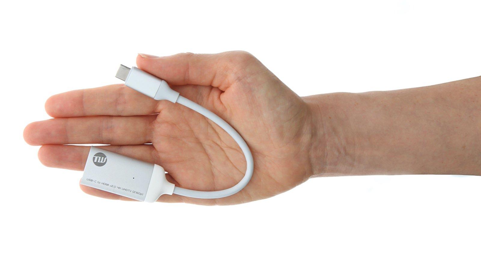 TUNWEAR USBC to HDMI v2 4K UHDTV Adaptor 08