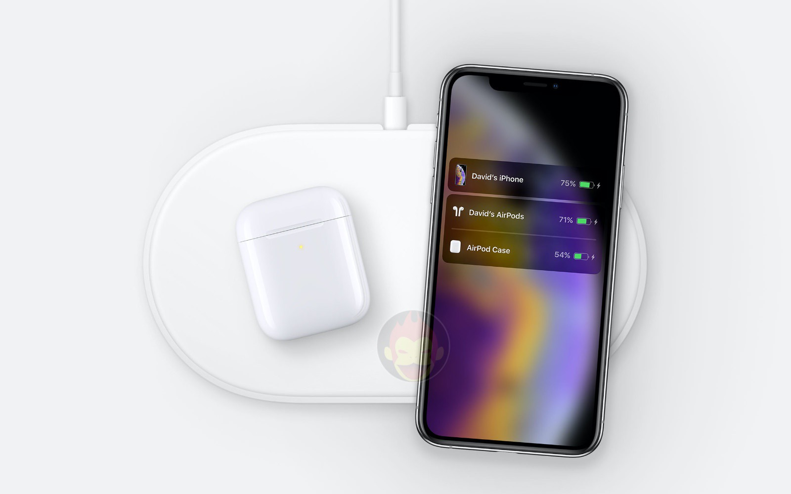 AirPower Mat with iPhoneXS found on Apple Servers