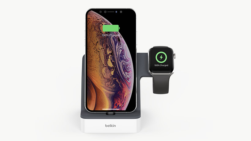 Belkin PowerHouse Dock for iPhone and AppleWatch 1