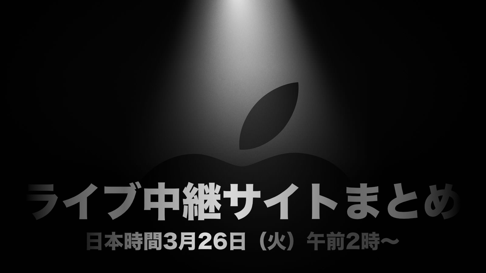 Its Show Time Apple March2019 special event Live Blog