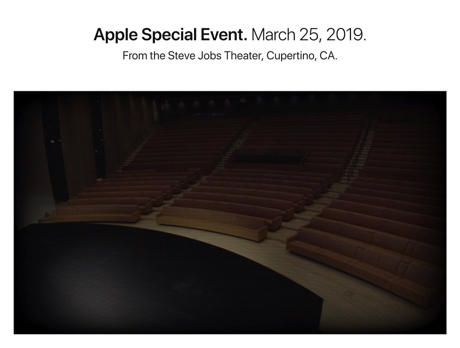 Live Streaming of Steve Jobs Theater