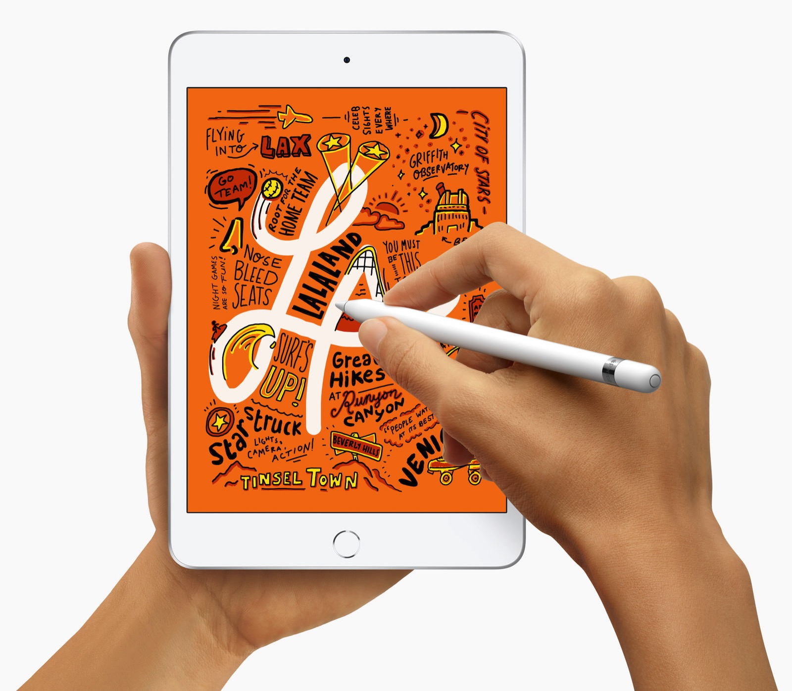 New iPad Mini and supports Apple Pencil 03192019