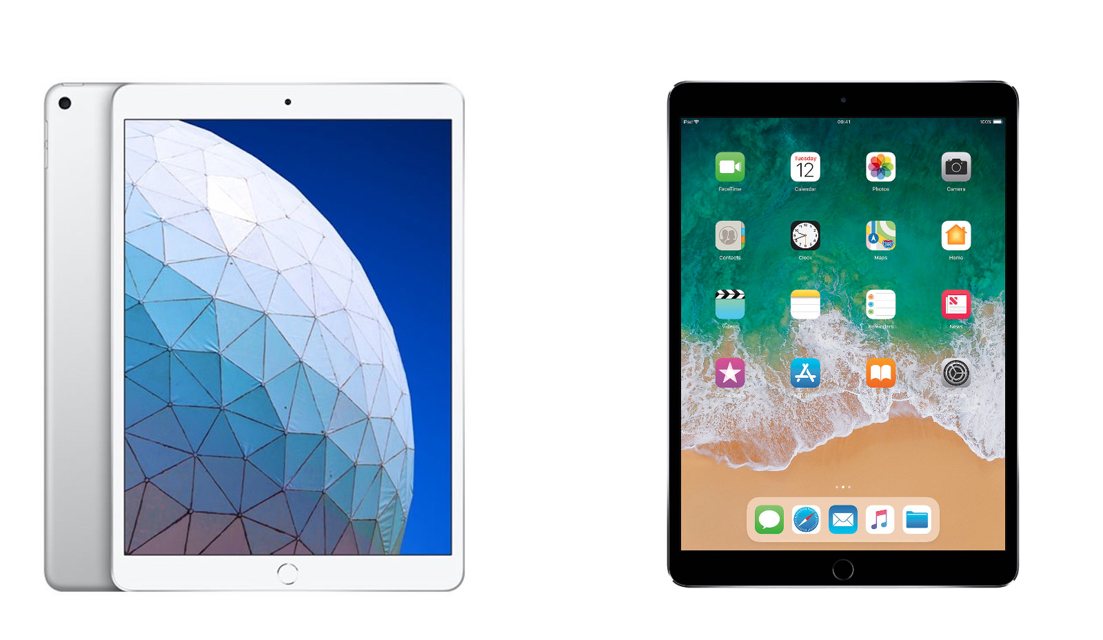 Ipad air 2019 vs ipad pro 105